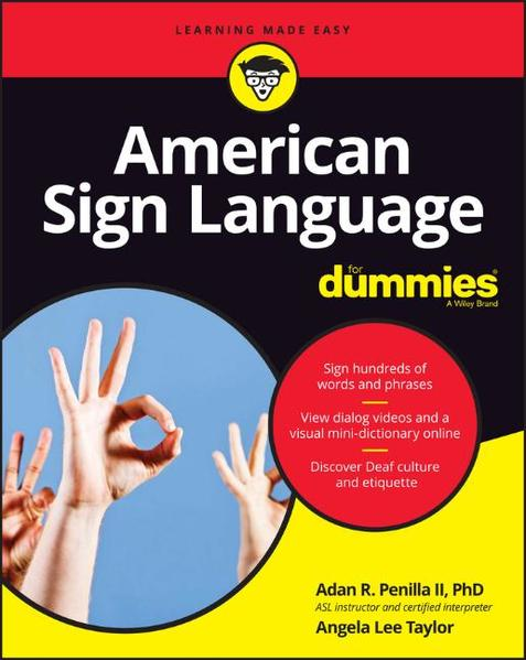 American Sign Language For Dummies - Coverbild