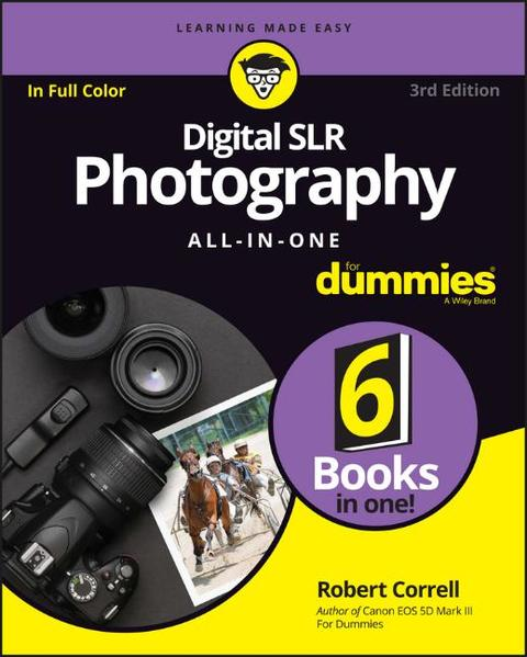Digital SLR Photography All-in-One For Dummies - Coverbild