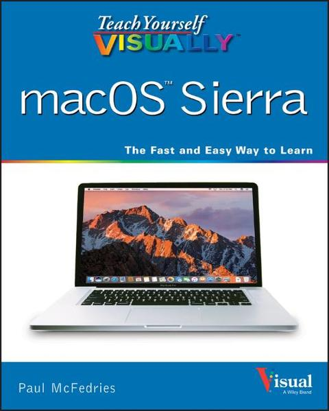 Teach Yourself VISUALLY macOS Sierra - Coverbild