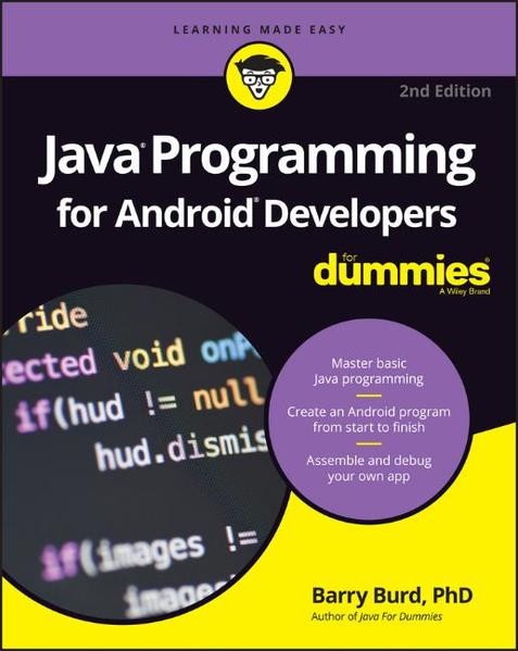 Java Programming for Android Developers For Dummies - Coverbild