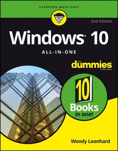 Windows 10 All-In-One For Dummies - Coverbild
