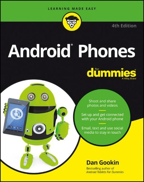 Android Phones For Dummies - Coverbild