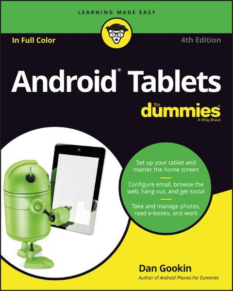 Android Tablets For Dummies - Coverbild