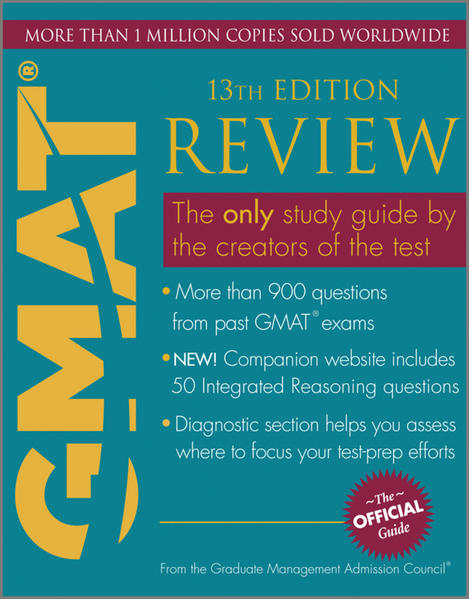 The Official Guide for GMAT Review - Coverbild