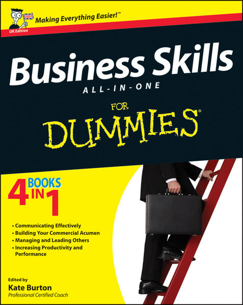 Business Skills All-in-One For Dummies, UK Edition - Coverbild