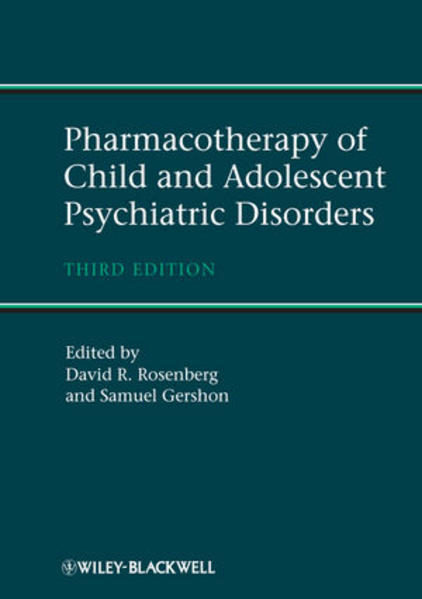 Pharmacotherapy of Child and Adolescent Psychiatric Disorders - Coverbild