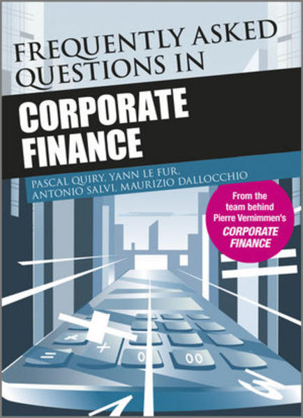 Frequently Asked Questions in Corporate Finance - Coverbild