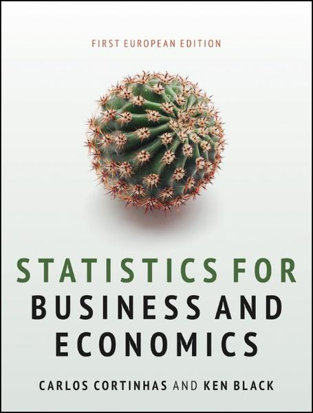 Statistics for Business and Economics - Coverbild