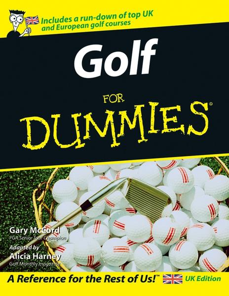 Golf For Dummies, UK Edition - Coverbild