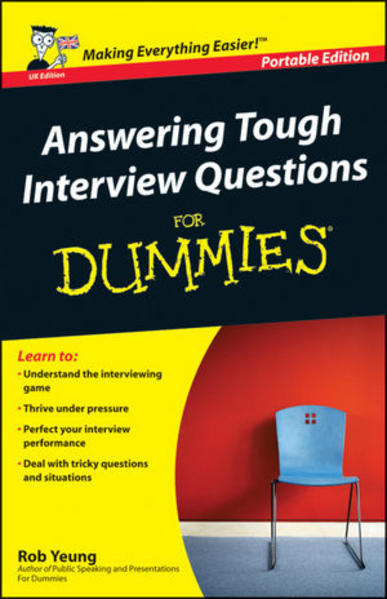 Answering Tough Interview Questions for Dummies - Coverbild