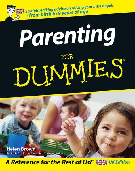 Parenting For Dummies, UK Edition - Coverbild