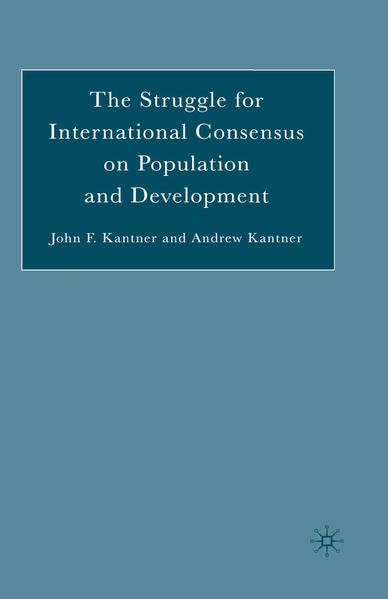 The Struggle for International Consensus on Population and Development - Coverbild