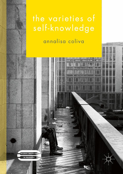 The Varieties of Self-Knowledge - Coverbild