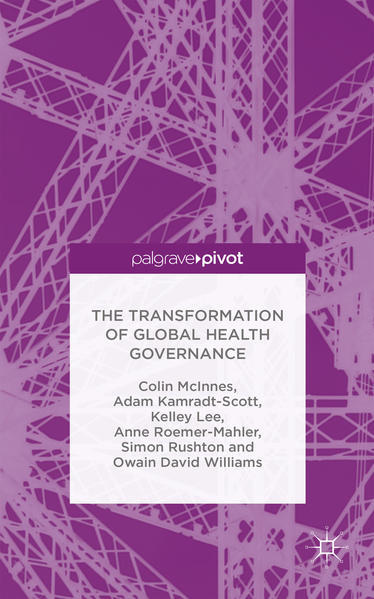 The Transformation of Global Health Governance - Coverbild