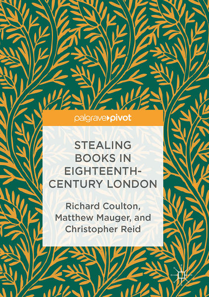 Stealing Books in Eighteenth-Century London - Coverbild