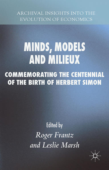 Minds, Models and Milieux - Coverbild