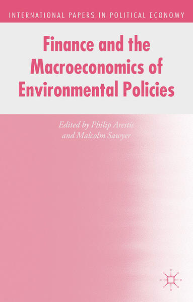 Finance and the Macroeconomics of Environmental Policies - Coverbild
