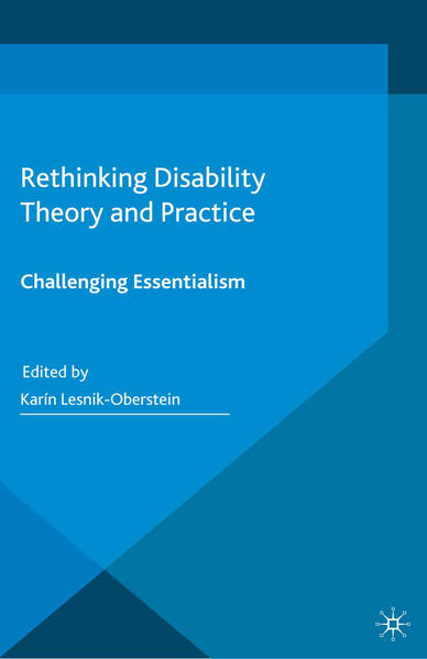 Rethinking Disability Theory and Practice - Coverbild