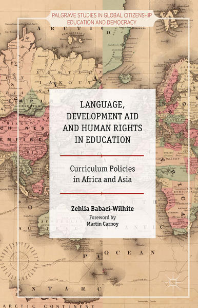 Language, Development Aid and Human Rights in Education - Coverbild