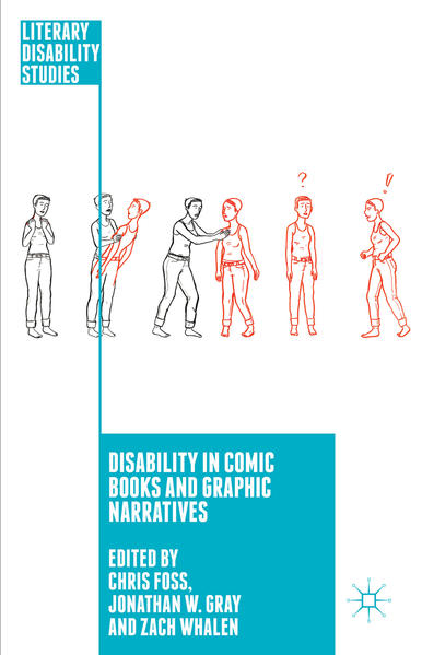 Disability in Comic Books and Graphic Narratives - Coverbild