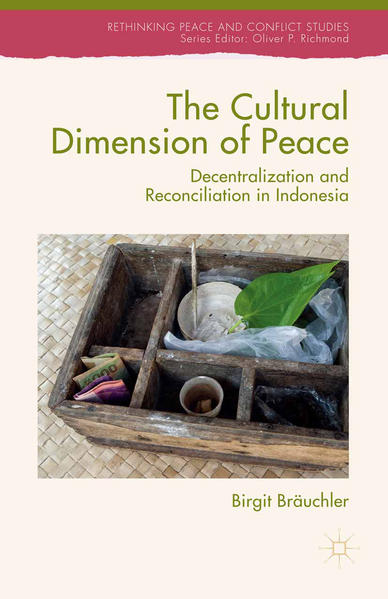The Cultural Dimension of Peace - Coverbild