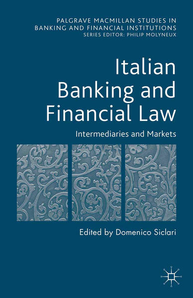 Italian Banking and Financial Law: Intermediaries and Markets - Coverbild