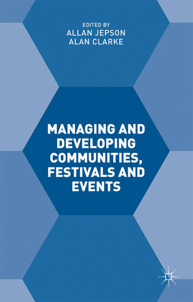 Managing and Developing Communities, Festivals and Events - Coverbild