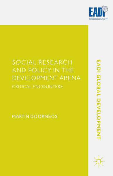 Social Research and Policy in the Development Arena - Coverbild