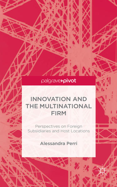 Innovation and the Multinational Firm - Coverbild