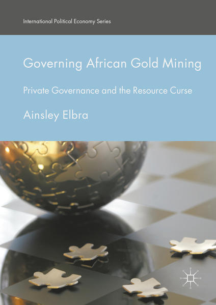 Governing African Gold Mining - Coverbild