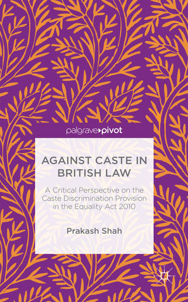 Against Caste in British Law - Coverbild
