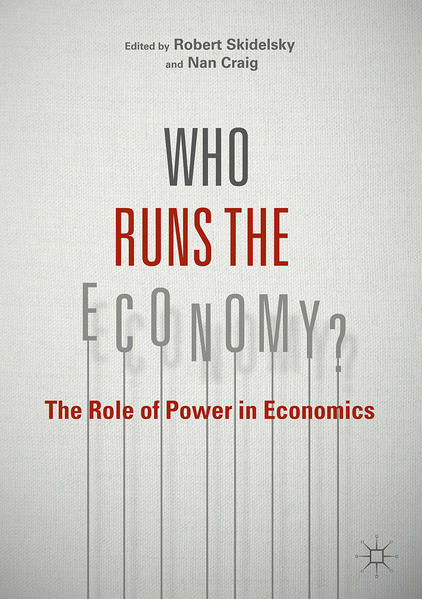 Who Runs the Economy? - Coverbild