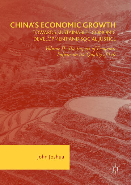 China's Economic Growth: Towards Sustainable Economic Development and Social Justice - Coverbild