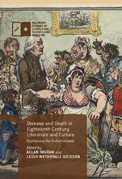 Disease and Death in Eighteenth-Century Literature and Culture - Coverbild