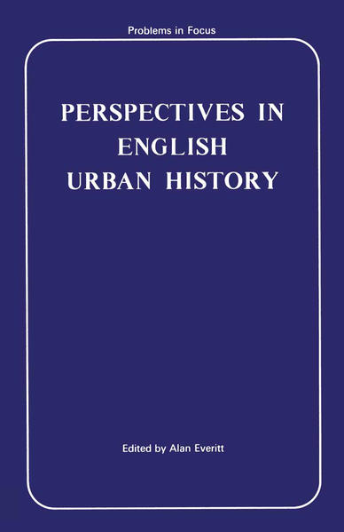 Perspectives in English Urban History - Coverbild