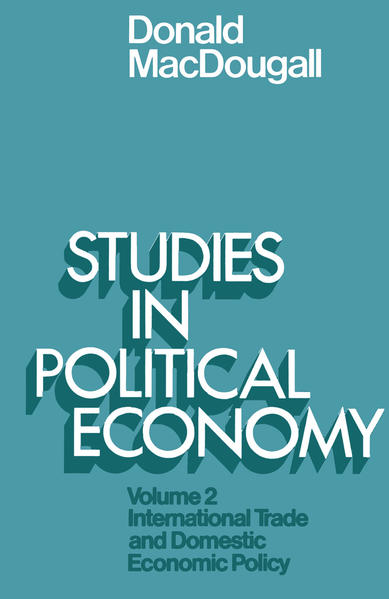 Studies in Political Economy - Coverbild
