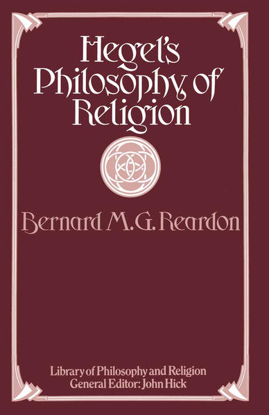Hegel's Philosophy of Religion - Coverbild