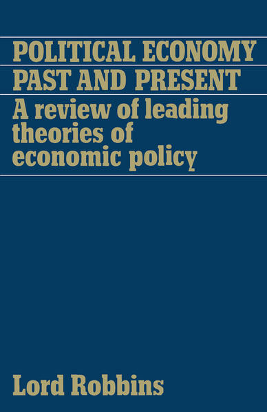 Political Economy: Past and Present - Coverbild