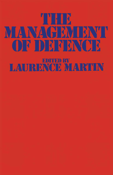 The Management of Defence - Coverbild