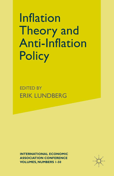 Inflation Theory and Anti-Inflation Policy - Coverbild
