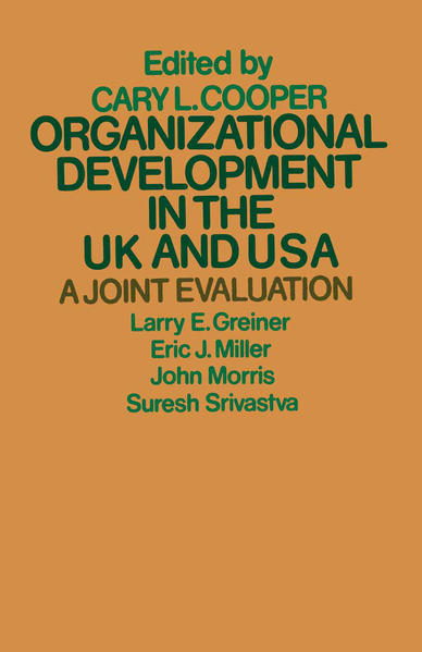 Organizational Development in the UK and USA - Coverbild