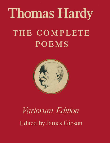 The Variorum Edition of the Complete Poems of Thomas Hardy - Coverbild