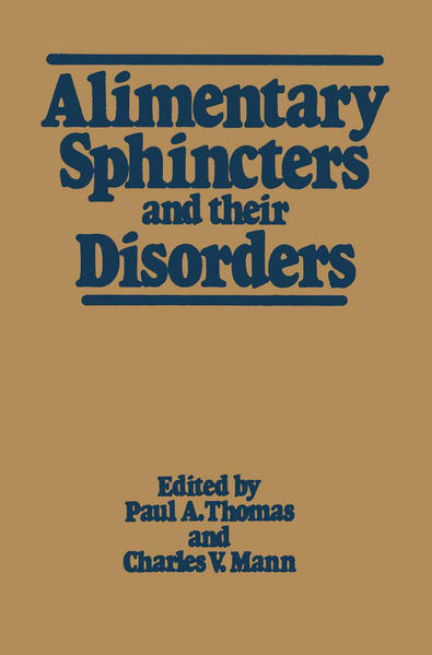 Alimentary Sphincters and their Disorders - Coverbild