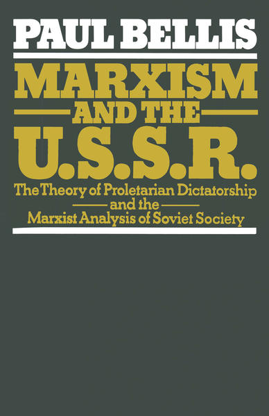 Marxism and the U.S.S.R. - Coverbild