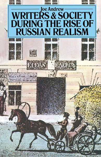 Writers and Society During the Rise of Russian Realism - Coverbild