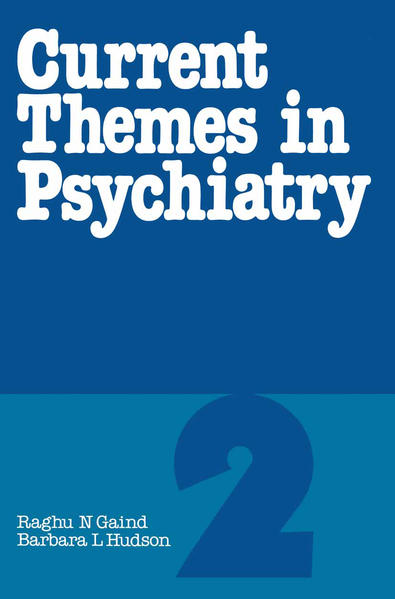 Current Themes in Psychiatry 2 - Coverbild