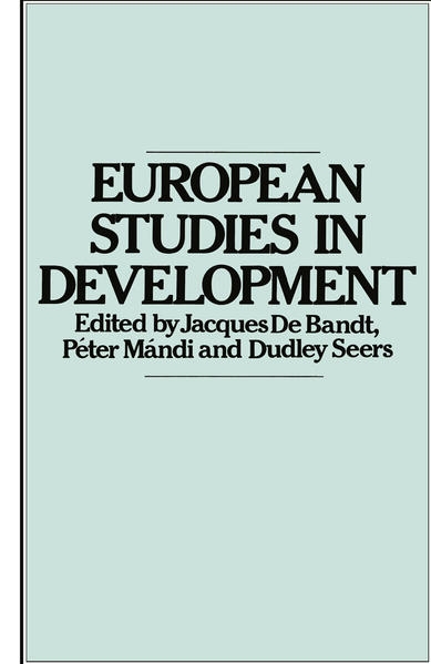 European Studies in Development - Coverbild