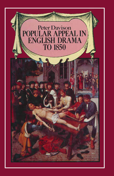 Popular Appeal in English Drama to 1850 - Coverbild