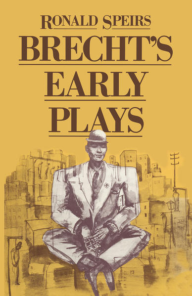 Brecht's Early Plays - Coverbild