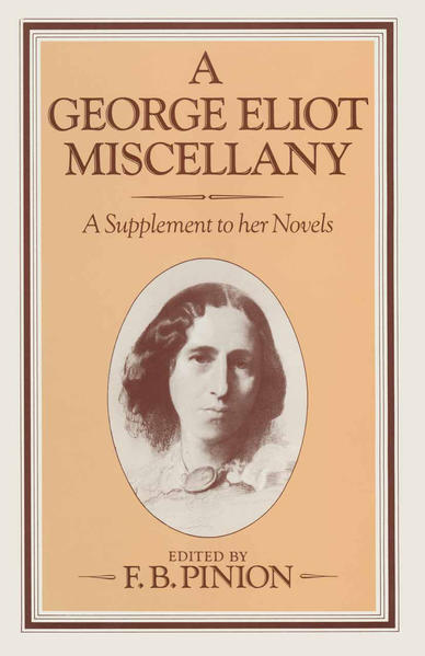A George Eliot Miscellany - Coverbild